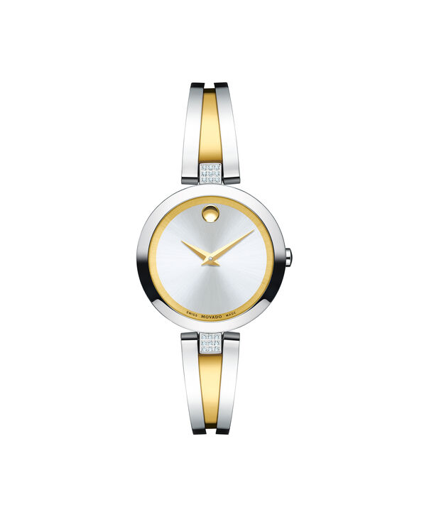 MOVADO Aleena0607159 – Women's 27 mm bangle watch - Front view