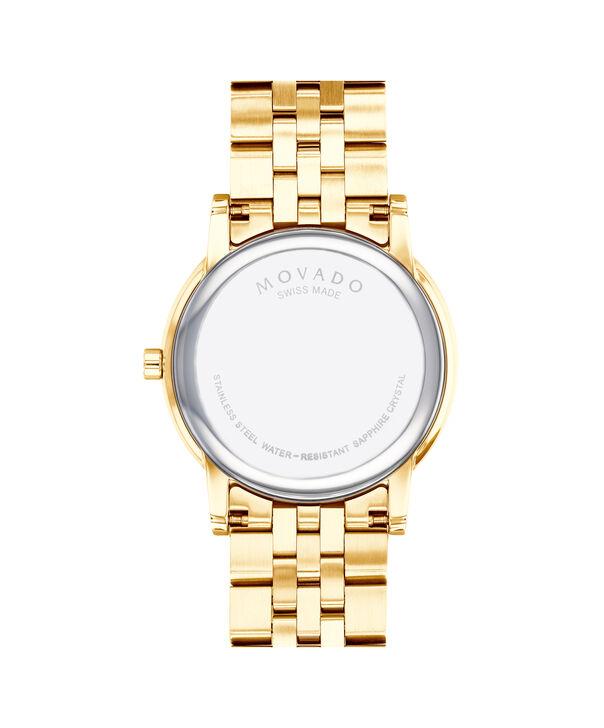 MOVADO Museum Classic0607203 – Montre-bracelet à cadran de 40 mm pour hommes - Back view