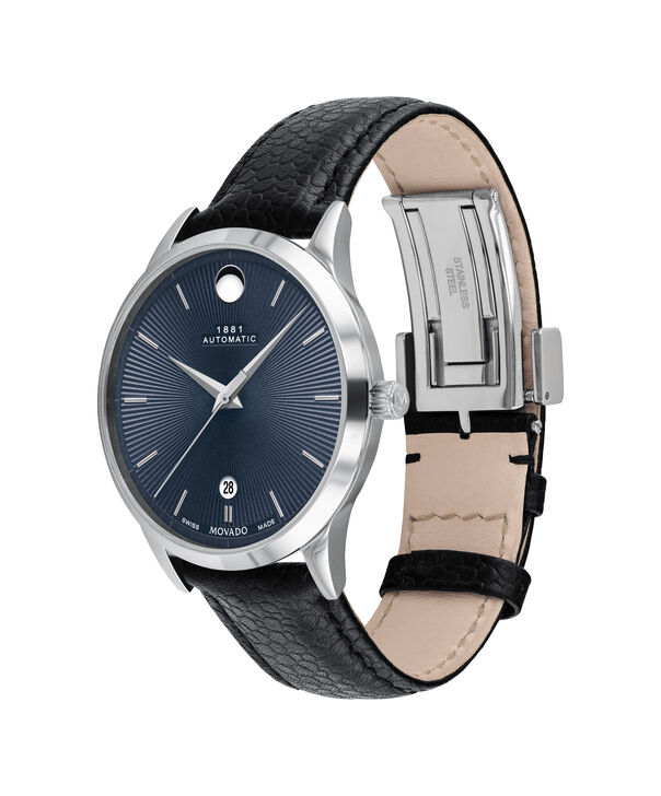 MOVADO 1881 Automatic0607454 – 39mm 1881 Automatic on Strap - Side view