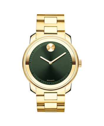 MOVADO Movado BOLD3600582 – 42mm BOLD Metal 2H on Bracelet - Front view