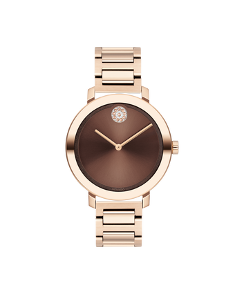 MOVADO Movado BOLD Evolution3600690 – Movado BOLD Evolution de 34 mm, brac. souple - Front view