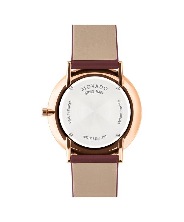 MOVADO Modern 470607261 – Movado.com EXCLUSIVE 40mm strap watch - Back view