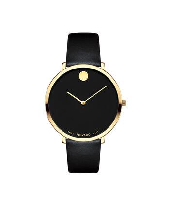 MOVADO 70th Anniversary0607137 – Montre à bracelet souple avec cadran en de 35 mm - Front view