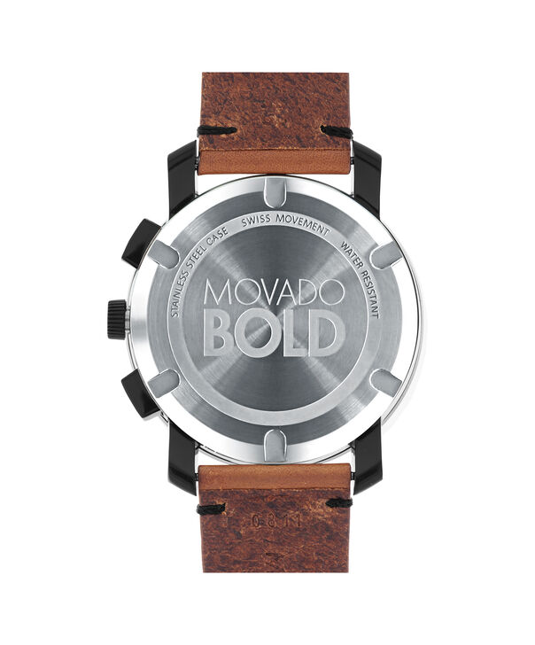 MOVADO Movado BOLD3600540 – 43 mm Colorado strap chrono - Back view