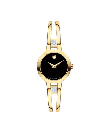 MOVADO Amorosa0607155 – Montre à bracelet-jonc de 24 mm pour femmes - Front view