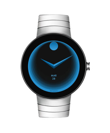MOVADO Movado Connect3660017 – 46.5 mm montre intelligente avec afficher - Front view