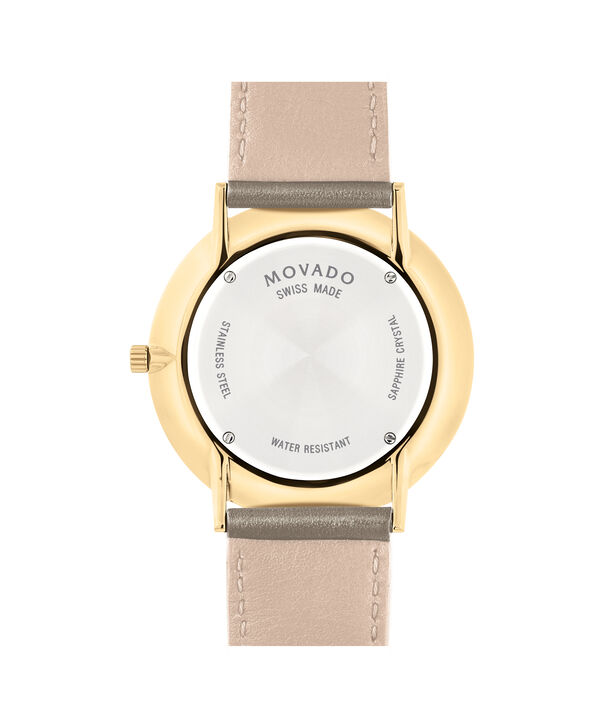 MOVADO Movado Ultra Slim0607375 – 40 mm Ultra Slim on Strap - Back view