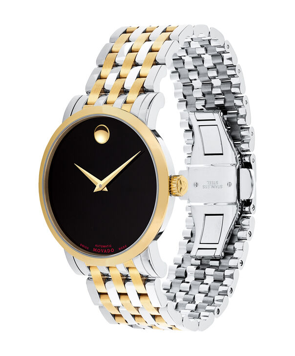 MOVADO Red Label0607008 – Men's 42 mm automatic bracelet watch - Side view