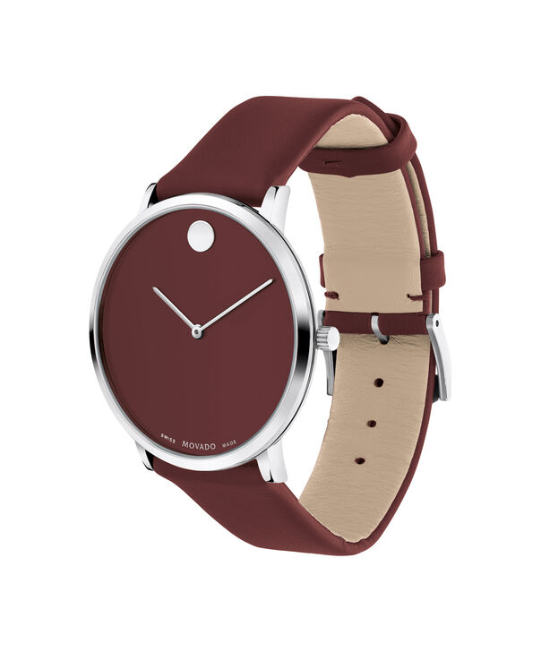 MOVADO Modern 470607256 – Movado.com EXCLUSIVE 40mm strap watch - Side view