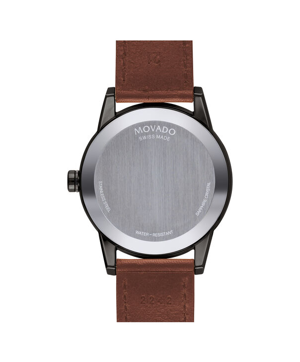MOVADO Museum Sport0607224 – Men's 42 mm strap watch - Back view