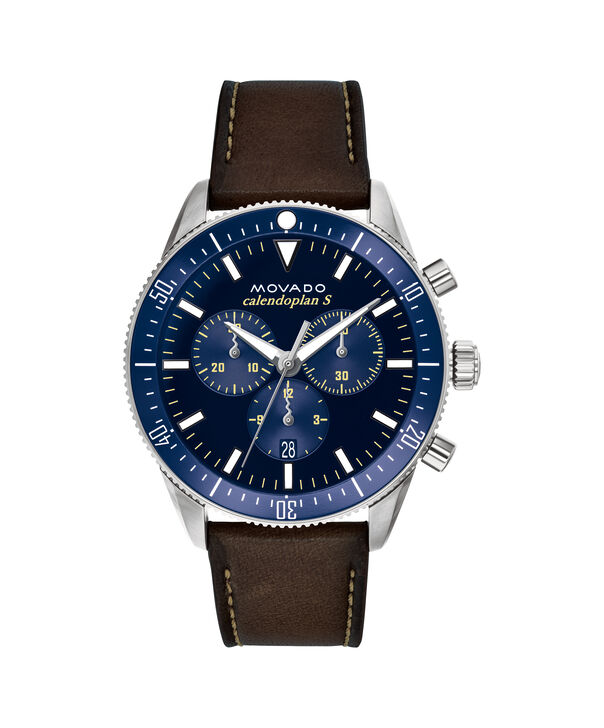 MOVADO Movado Heritage Series3650061 – 42 mm strap chronograph - Front view