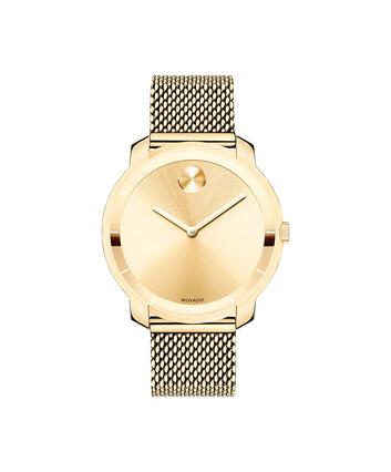 MOVADO Movado BOLD3600242 – 36 mm flat mesh bracelet watch - Front view