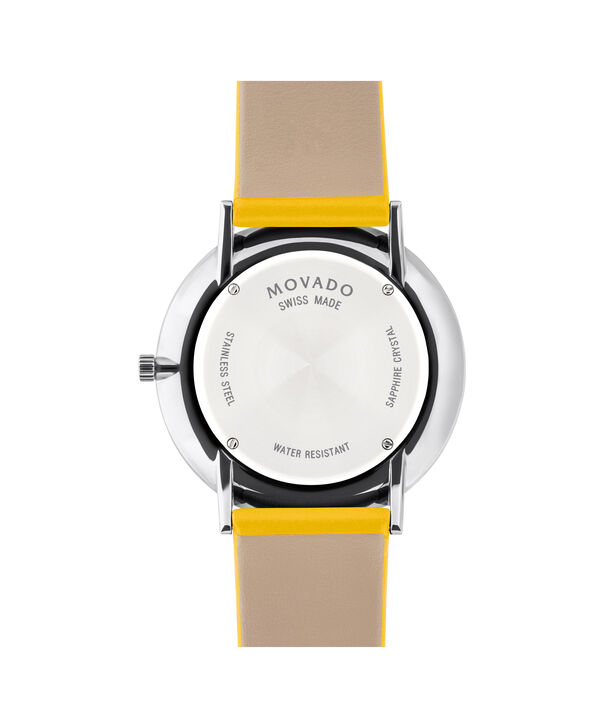 MOVADO Modern 470607252 – Movado.com EXCLUSIVE 40mm strap watch - Back view