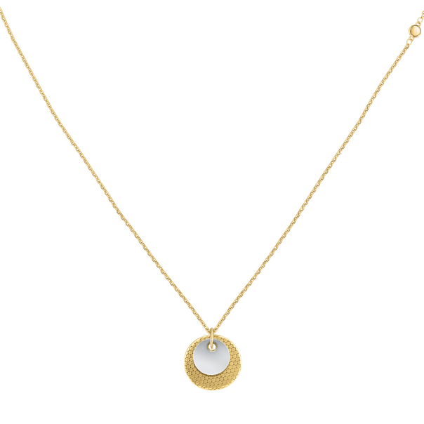 MOVADO Movado Disc Necklace1840017 – Collier-chaînette à disque or jaune - Front view