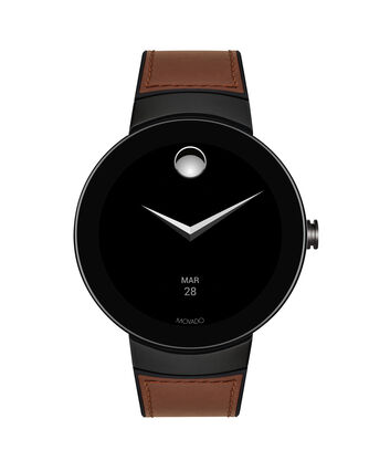 MOVADO Movado Connect3660019 – 46.5 mm montre intelligente avec afficher - Front view