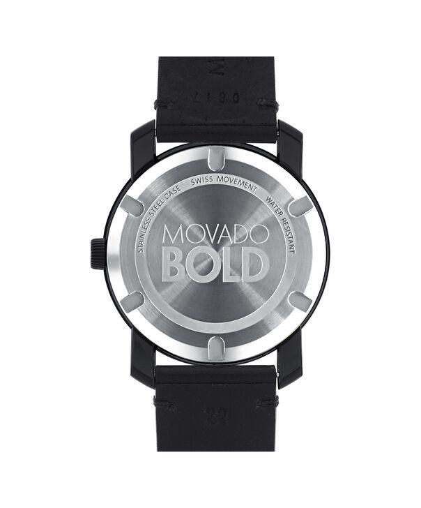 MOVADO Movado BOLD3600307 – Montre de 42 mm avec bracelet en cuir Colorado - Back view