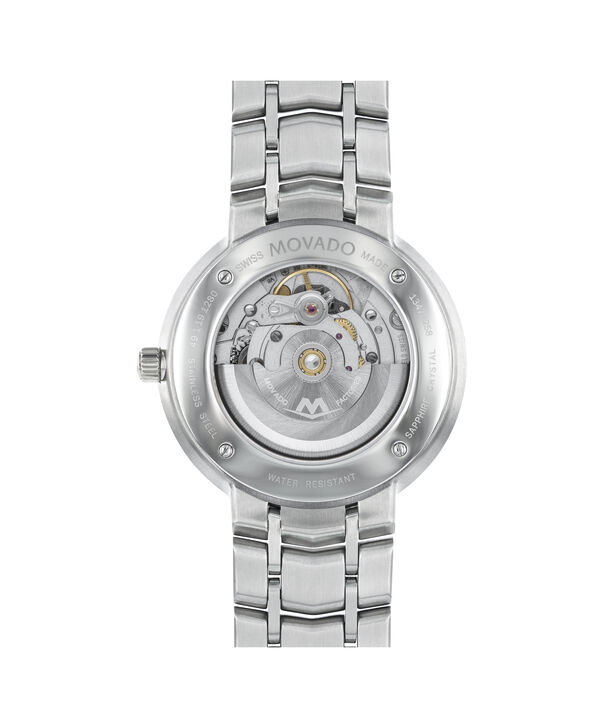 MOVADO 1881 Automatic0606915 – Men's 39.5 mm automatic 3-hand - Back view