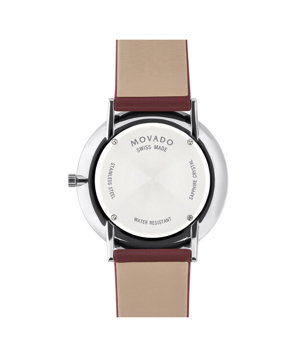 MOVADO Modern 470607256 – Movado.com EXCLUSIVE 40mm strap watch - Back view