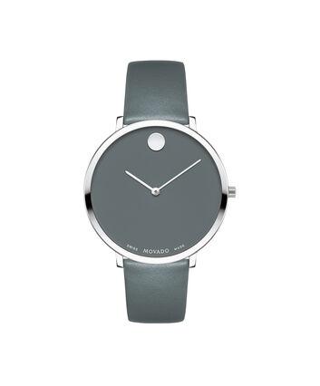 MOVADO 70th Anniversary0607144 – Montre à bracelet souple avec cadran en de 35 mm - Front view