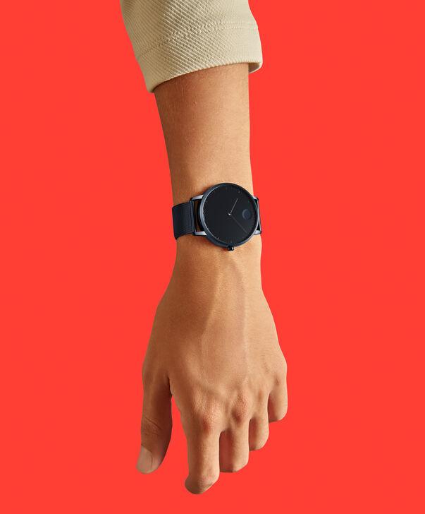 MOVADO Movado Face3640009 – Montre-bracelet à cadran de 41 mm pour hommes - Back view