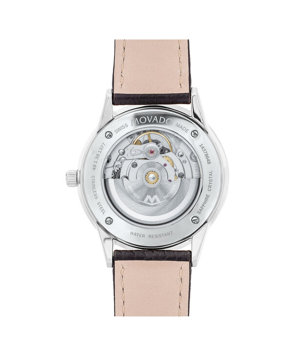 MOVADO 1881 Automatic0607453 – 39mm 1881 Automatic on Strap - Back view