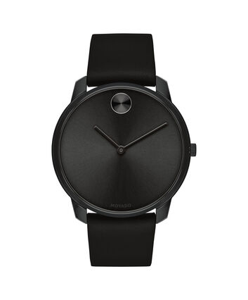 MOVADO Movado BOLD3600587 – 42mm BOLD Thin on Strap - Front view