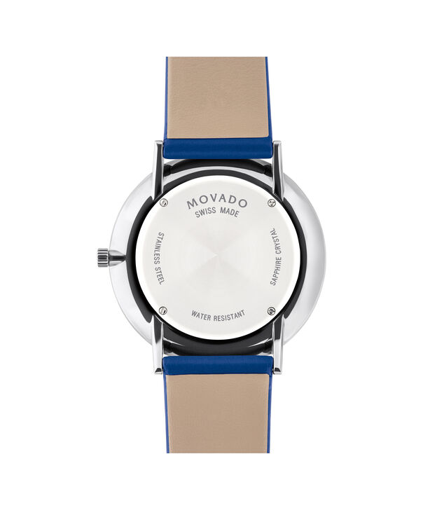 MOVADO Modern 470607251 – Movado.com EXCLUSIVE 40mm strap watch - Back view