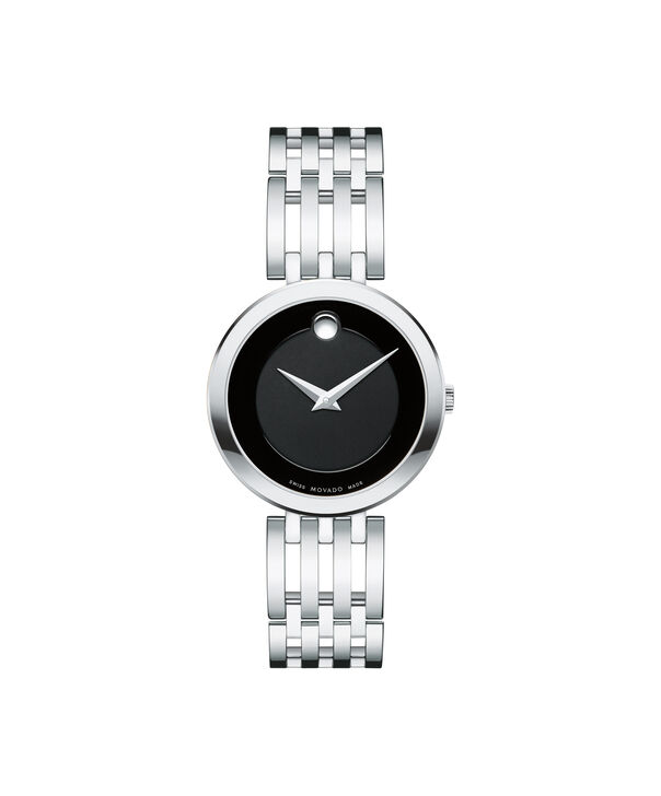 Movado | Esperanza Women's Stainless Steel Watch with Black Dial