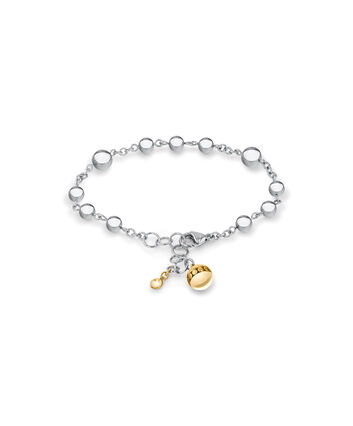 MOVADO Movado Sphere Bracelet1840021 – Silver Chain Bracelet With Beads - Front view