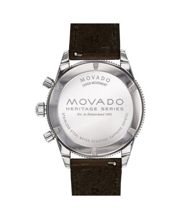 MOVADO Movado Heritage Series3650061 – 42 mm strap chronograph - Back view