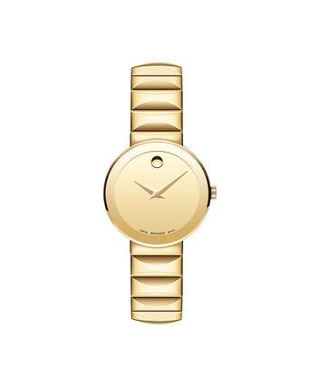 MOVADO Sapphire0607214 – Montre-bracelet à cadran de 26 mm pour femmes - Front view
