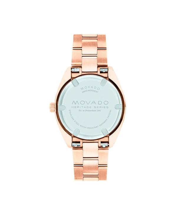 MOVADO Movado Heritage Series3650039 – Women's 31 mm bracelet watch - Back view