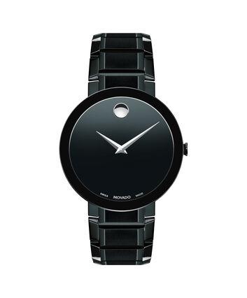 MOVADO Sapphire0607179 – Montre-bracelet à cadran de 39 mm pour hommes - Front view