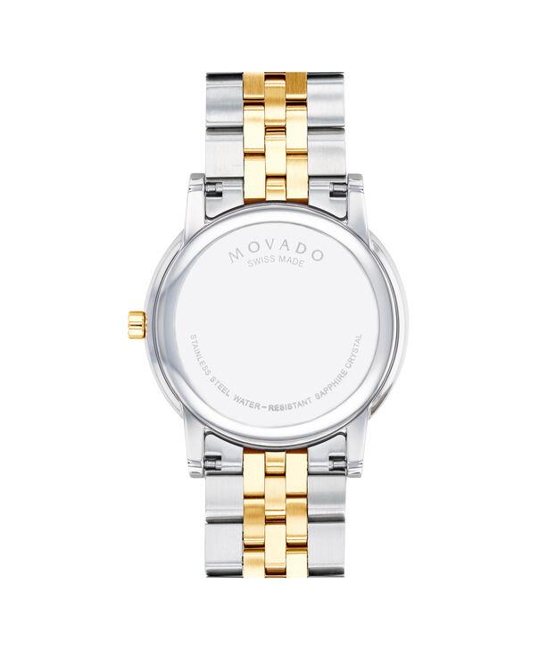 MOVADO Museum Classic0607202 – Montre-bracelet à cadran de 40 mm pour hommes - Back view