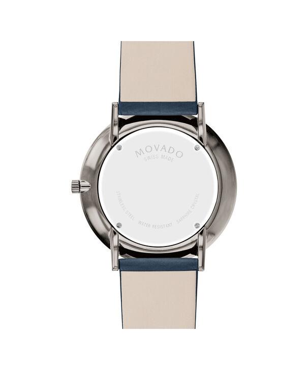 MOVADO Modern 470607332 – NHG 40 mm sur bracelet texturé - Back view