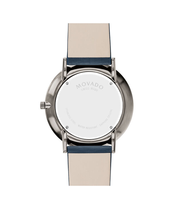 MOVADO Modern 470607332 – 40 mm Modern 47 on Textured Strap - Back view