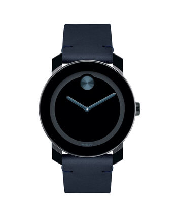 MOVADO Movado Bold3600601 – BOLD 42mm 2a TR90, cuir - Front view