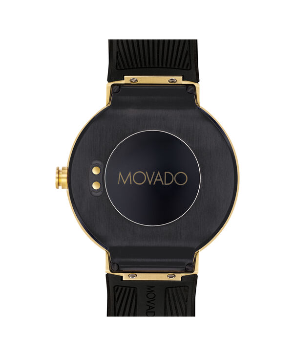 MOVADO Movado Connect3660014 – 46.5 mm display smartwatch - Back view
