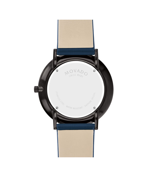 MOVADO Modern 470607331 – 40 mm Modern 47 on Strap - Back view