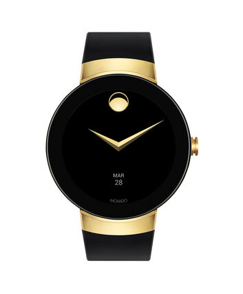 MOVADO Movado Connect3660014 – 46.5 mm display smartwatch - Front view