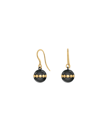MOVADO Movado Sphere Earrings1840043 – Boucles noires Movado Sphere - Front view