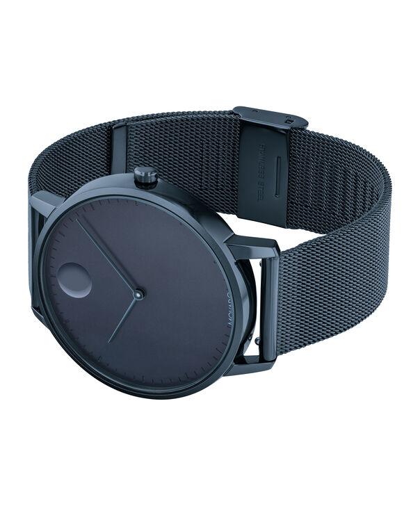 MOVADO Movado Face3640009 – Montre-bracelet à cadran de 41 mm pour hommes - Side view