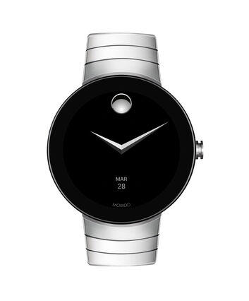 MOVADO Movado Connect3660017 – 46.5 mm montre intelligente avec afficher - Front view