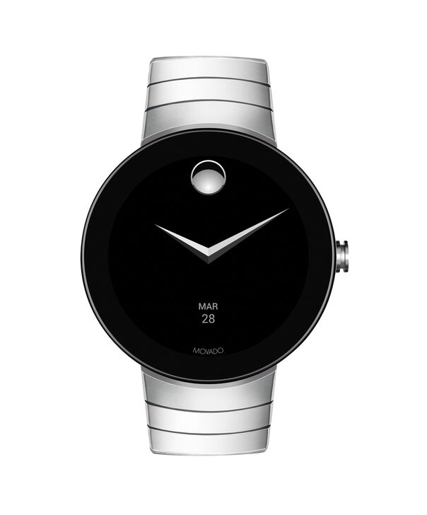 MOVADO Movado Connect3660017 – 46.5 mm montre intelligente avec afficher - Side view