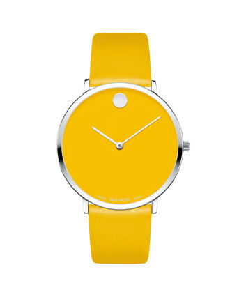 MOVADO Movado NGH0607252 – Movado.com EXCLUSIVE 40mm strap watch - Front view