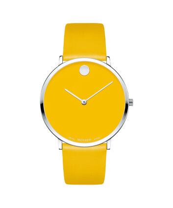 MOVADO Modern 470607252 – Movado.com EXCLUSIVE montre à bracelet souple - Front view