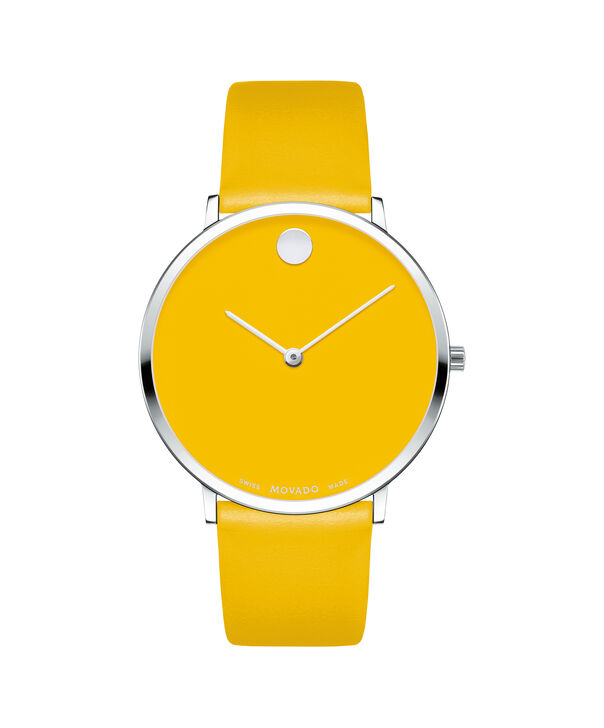 MOVADO Modern 470607252 – Movado.com EXCLUSIVE 40mm strap watch - Front view