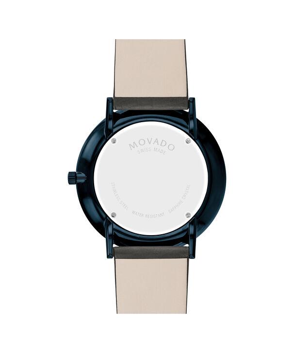 MOVADO Modern 470607333 – NHG 40 mm sur bracelet texturé - Back view
