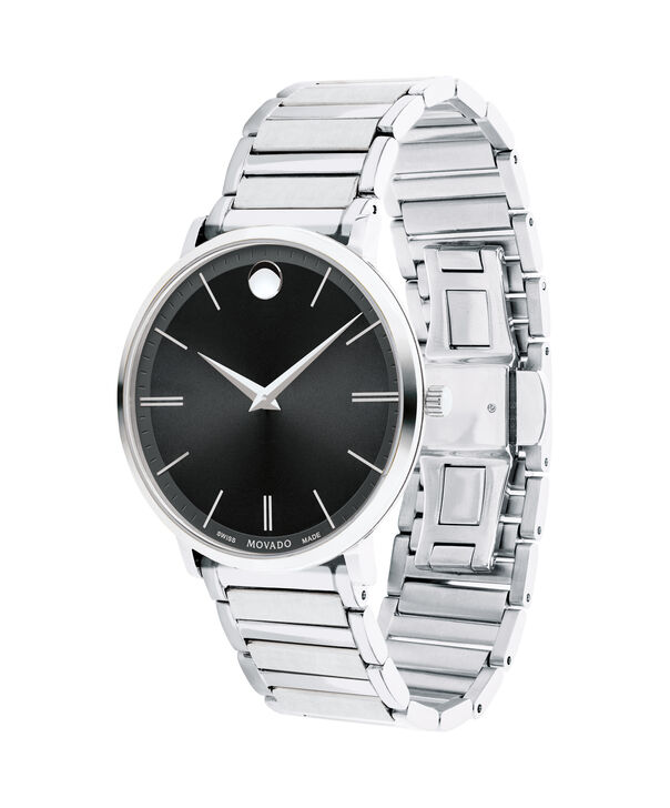 MOVADO Movado Ultra Slim0607167 – Men's 40 mm bracelet watch - Side view