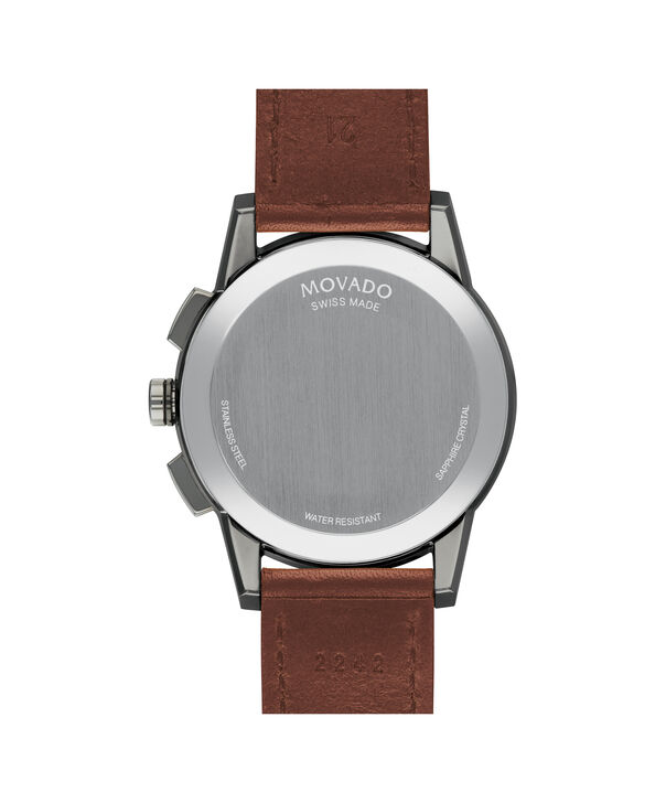 MOVADO Museum Sport0607290 – Men's 43 mm strap watch - Back view